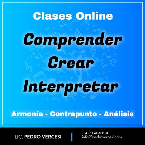 armonía y contrapunto / clases online