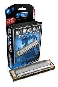 armonica big river harp  hohner 100% original