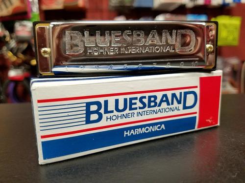 armonica blusera hohner bluesband - diatonica en c
