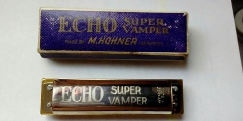 armónica echo vamper vintage- envio gratis
