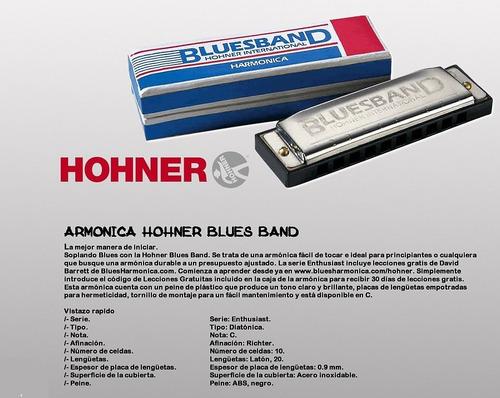armonica hohner bluesband alemana original diatonica