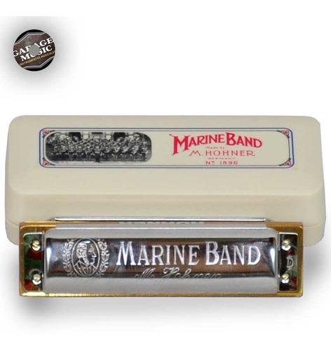 armonica hohner marine band con estuche original curso en cd