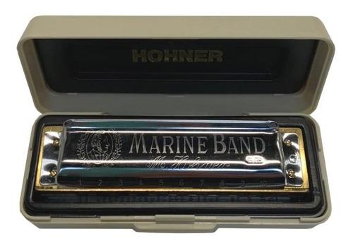 armonica hohner marine band en sol