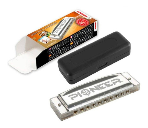 armonica hohner pioneer diatonica blusera en do c garantia