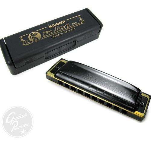 armonica hohner pro harp profesional estuche diatonica gtia