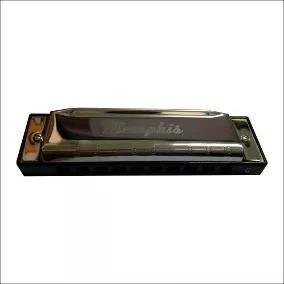 armonica memphis t10-3 abdefg diatonica con estuche cobre