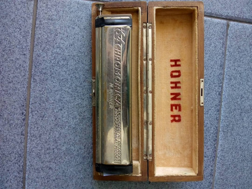 armonica profecional m hohner germany 4 chromatic octaves