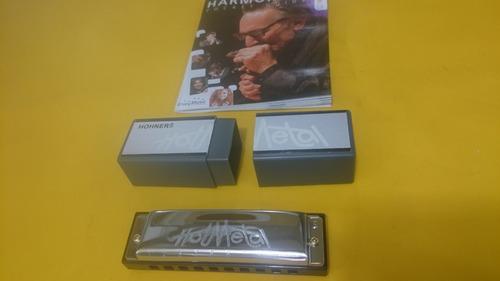 armonica profesional hohner hot metal pal afinacion e nuevas