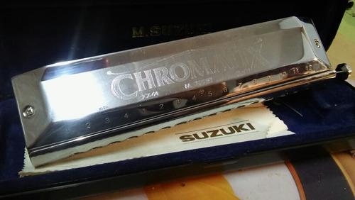 armónica suzuki scx-64 - nueva - 64 voces cromática