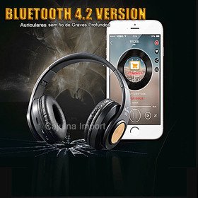 Armoon Hz-10 Wireless Headphones Sobre A Orelha Bluetooth Cj