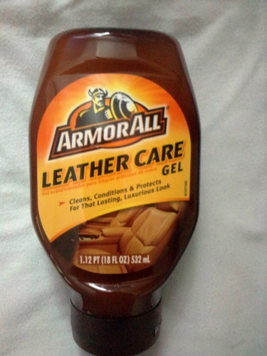 armorall leather care gel 532ml