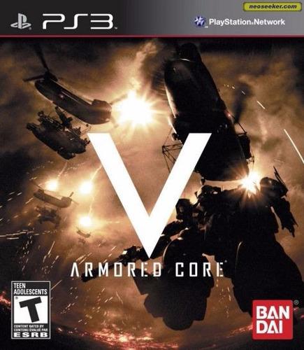 armored core v para ps3 nuevo y sellado