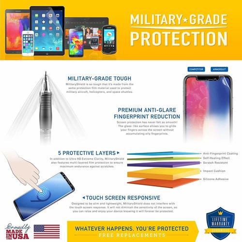 armorsuit militaryshield case amistoso protector de pantalla