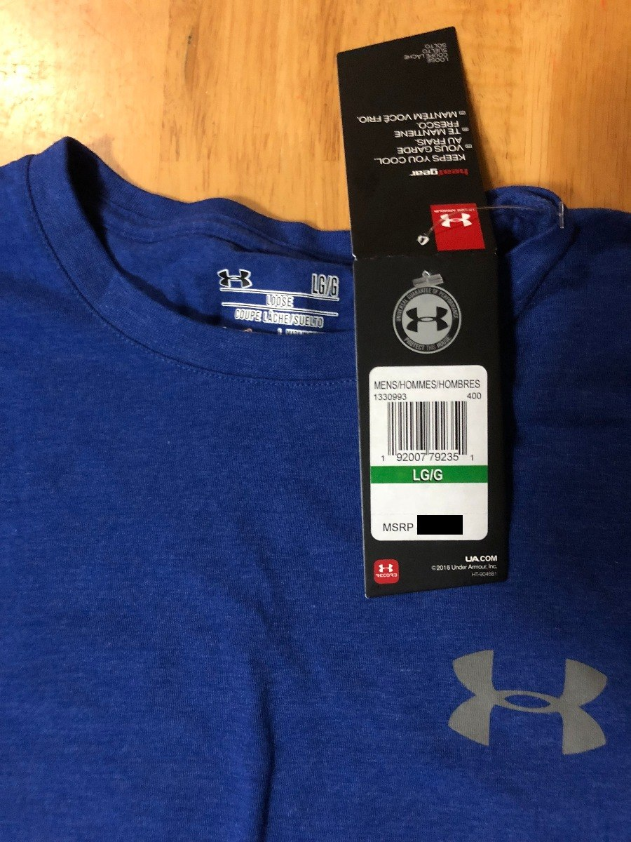 5b568500b2d34 Playera Under Armour Heatgear