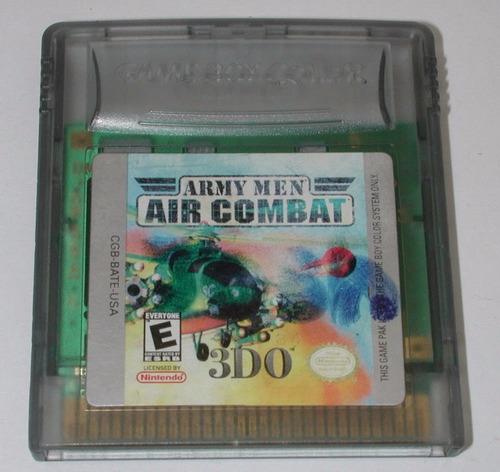 army men air combat/ game boy color/