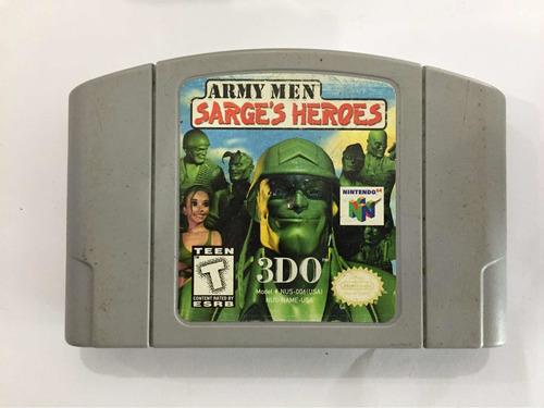 army men sarge s heroes n64