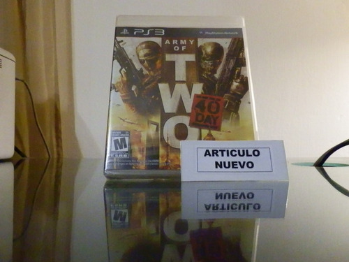 army of two 40 day - fisico - playstation 3