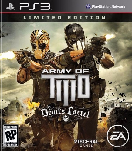 army of two the devils cartel juego digital ps3 oferta!