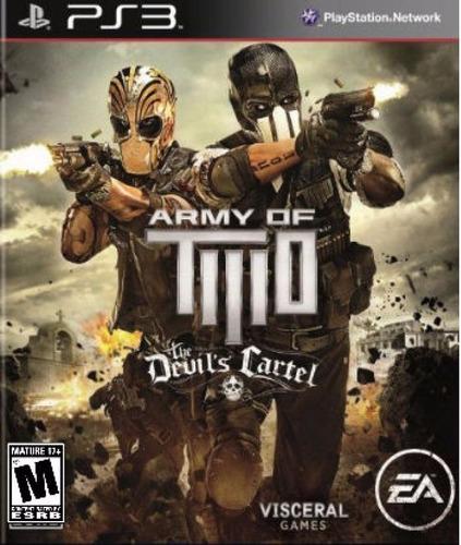 army of two the devil's cartel - ps3 digital - español
