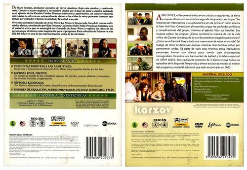 army wives paquete temporadas 1 y 2 serie de tv dvd