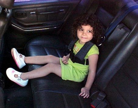 arnes cinturon de seguridad de niño 3 a 8 años facus black