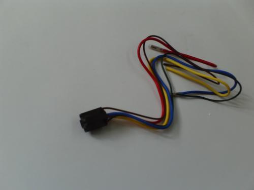arnes con cableado para instalacion de relay