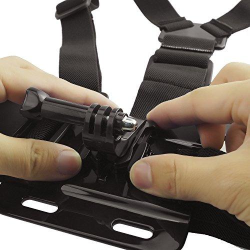 arnés de montaje en el pecho para gopro hero 5, negro, sesió