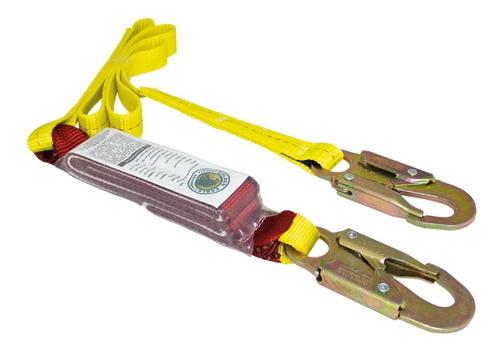arnes de seguridad de posicionamiento + linea de vida golden eagle facturado