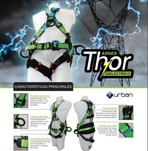 arnes de seguridad dielectrico x-urban mod. thor certificado