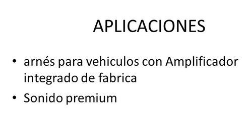 arnes lexus/toyota amplificado fabrica 2000 al 2007 toy-4960