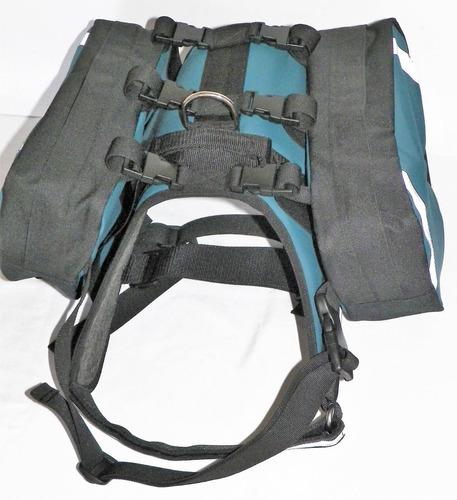 arnes mochila para perros