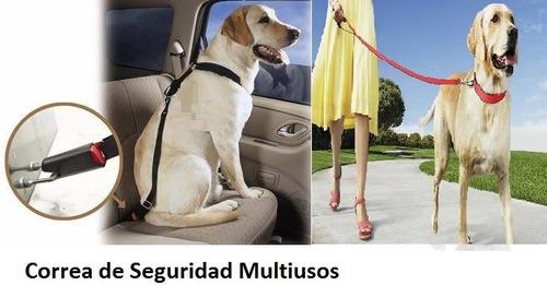 arnes para perros + correa de seguridad para auto 2 en 1
