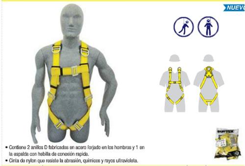 arnes para rescate unitalla surtek seguridad 137443