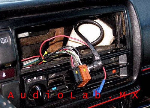 Arnes Pconectar Estereo Vw Jetta Derby Golf Pointer Ibiza H D Nq Np Mlm O on Clarion Harness