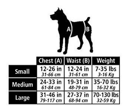 arnés posterior para  perro mediano - solvit petsafe