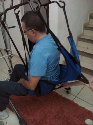 arnés reforzado para levantar paciente con grua o elevador