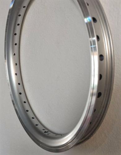 aro aero folha dupla de alumínio 16 polegadas para bicicleta