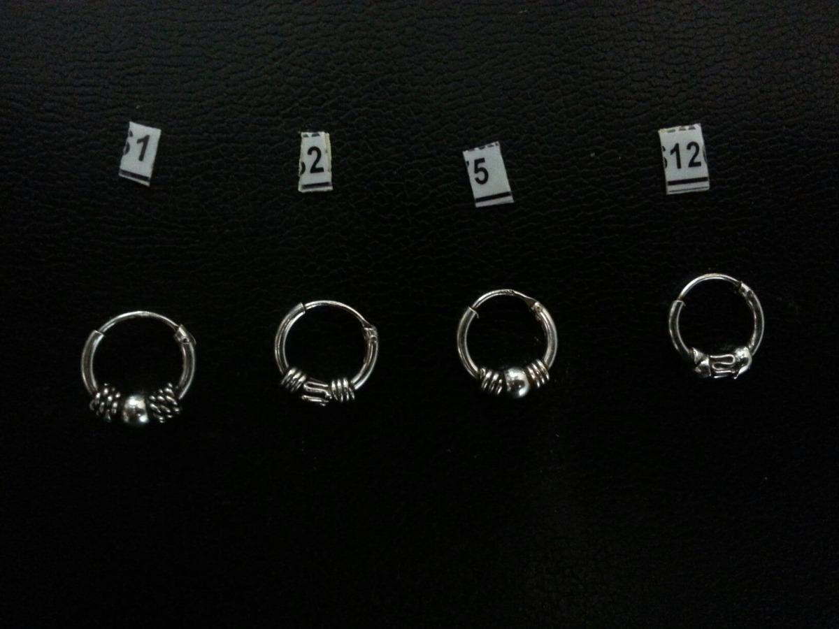 4fe32dcb834b aro argolla bali de plata 925 por 24 pares. Cargando zoom.