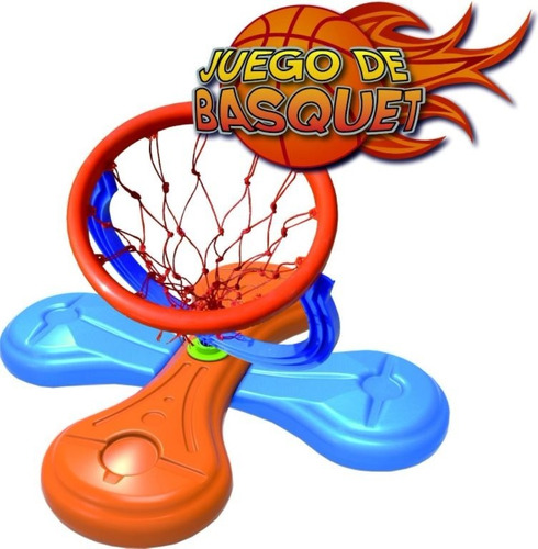 aro basquet agua pileta waterpolo + pelota aqua juegosol