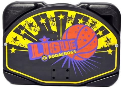 aro basquet de pie metalico + pelota + valija +red rodacross
