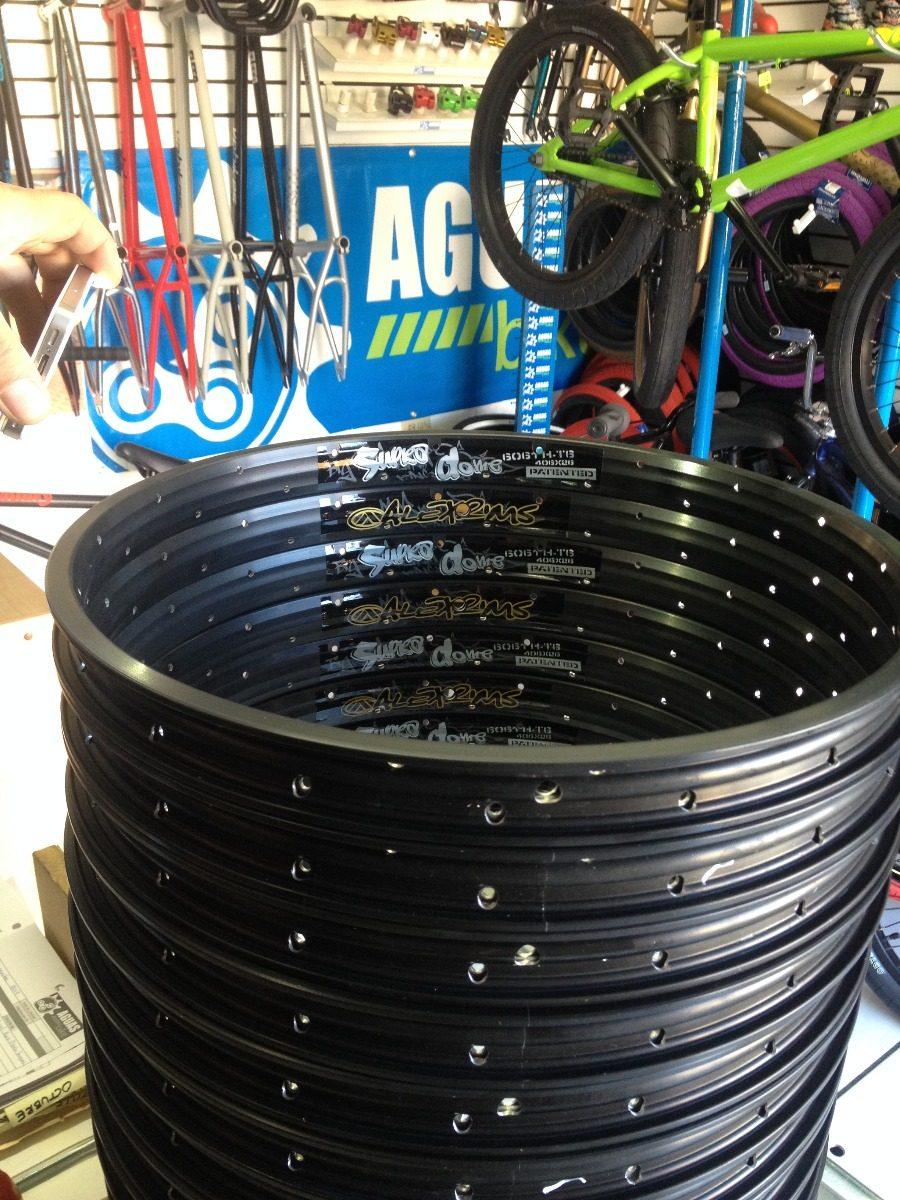 Aro Bmx 20 Alex Supra 36h Negro -   590.00 en Mercado Libre ec3e895185a