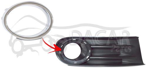aro cromado p/ grade lateral direito saveiro g5 dacar parts