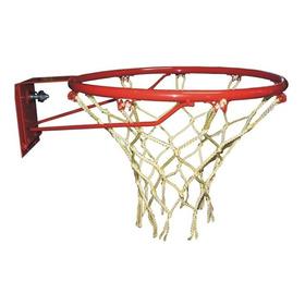 Aro De Basket Profesional Nº 7 Con Resorte Y Red - Basquet