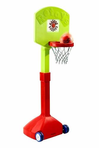 aro de basquet rotoys 2038 c/pie regulab