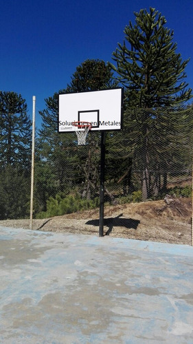 aro de basquet+tablero+jirafa+red