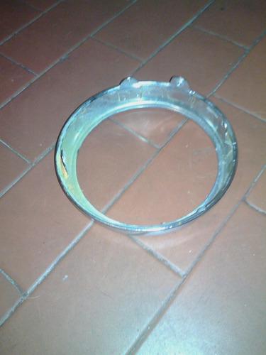 aro de farol moto antigua 14 cm diametro