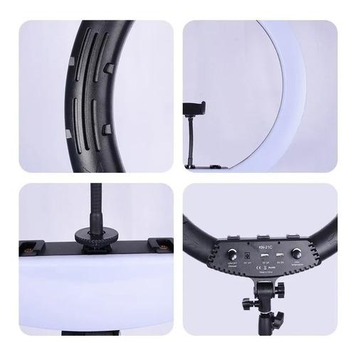 aro de luz led con anillo de 18 pulgadas 45cm +trípode 1,6cm