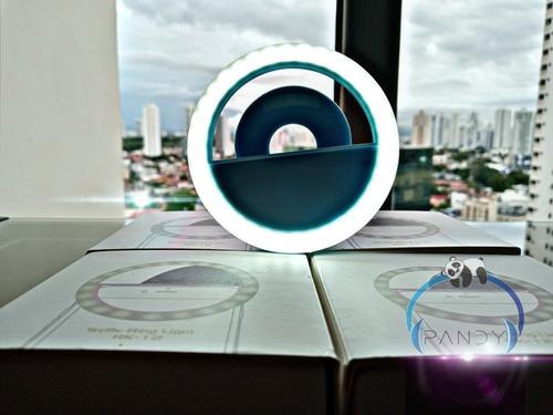 aro de luz led portatil para telefonos