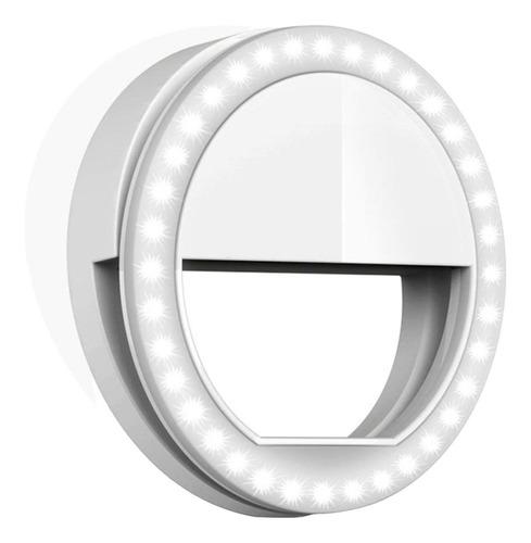 aro de luz led selfie anillo celular maquillaje ring tablet