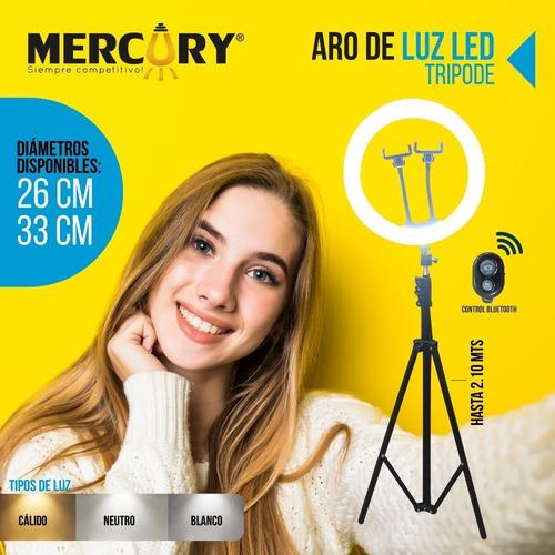 aro de luz mercury 33cm